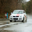 Rainy day at Brasov rally — Stock Photo #9786923