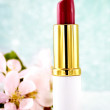 Pink Lipstick - Stock Photo
