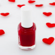 Red Nail Polish - Stock Photo