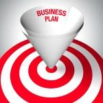 Winning business plan — Stock Photo