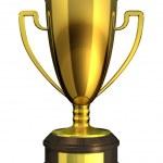 Gold Cup, Award. — Stock Photo #10253773