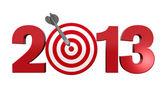 Prossimo obiettivo 2013. — Foto Stock