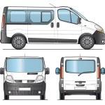 Minibus template — Stock Vector #10271054