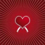 Red heart — Stock Vector #10273087