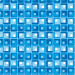 Blue Style Vector Pattern — Stock Vector