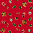 Christmas gift wrap — Stock Vector #10274154
