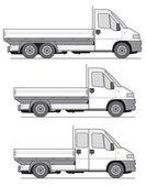 Truck Vector — Stock Vector
