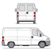 Van Vector — Stock Vector