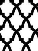 Seamless arab mosaic — Stock Vector