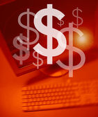 Make Money Online. — Stock Photo