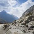 Road in Himalaya mountains — Stock Photo