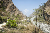 Valley in Himalaya — Stock Photo