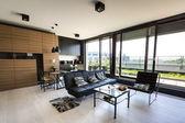 Modern interior apartment — Stock Photo