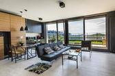 Sala de diseño interior moderno — Foto de Stock