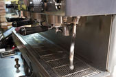 Espresso machine close-up — Stock Photo