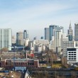 Panorama of Warsaw city - Stock Photo