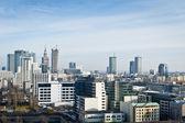 панорама города варшава — Стоковое фото