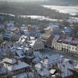 Winter panoramof Kazimierz Dolny town — Stock Photo #9078308