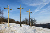 Three Crosses Hill in Kazimierz Dolny — Stock fotografie