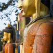 Closeup of Buddhas at the Swayambhunath Temple — Stock Photo