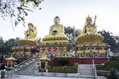 Swayambhunath temple — Foto Stock