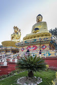 Buddha monuments at Swayambhunath Temple — Stock Photo