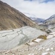 Stock Photo: Empty river in Himalaya