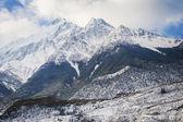 Peaks in the Himalaya, Nepal. — Stock Photo