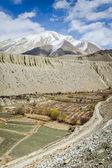 Spring panorama of Himalaya — Stock Photo