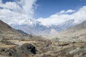 Bahar zamanı himalaya dağları — Stok fotoğraf