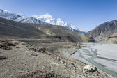 Spring landscape of Himalaya — Stock Photo