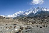 Himalaya mountains during springtime — Stock Photo