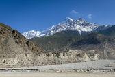 Himalaya mountains spring landscape — Stock Photo