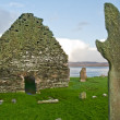 Kilnave church and cross — Stock Photo #10086507