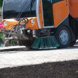 Stock Photo: Street sweeper