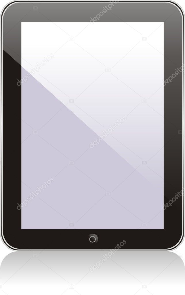 Vector concept tablet  PS, IPAD. No transparency effects. EPS8 Only  Stock Vector #9025718