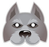 Mask_Wolf — Stock Vector