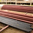 Steel Pipes Industrial — Stock Photo