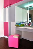 Interior design - dresser — Stock Photo