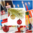 Stock Photo: Christmass collage