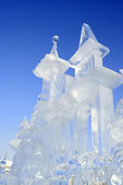 Icy sculpture — Stock Photo