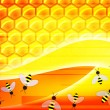 Abstract honey background — Stock Photo
