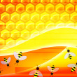 Abstract honey background — Stock fotografie