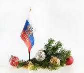 Russian New Year — Stock Photo