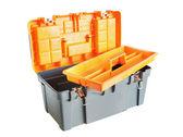 Plastic tool box — Stock Photo