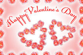 Valentine Day congratulation — Stock Photo