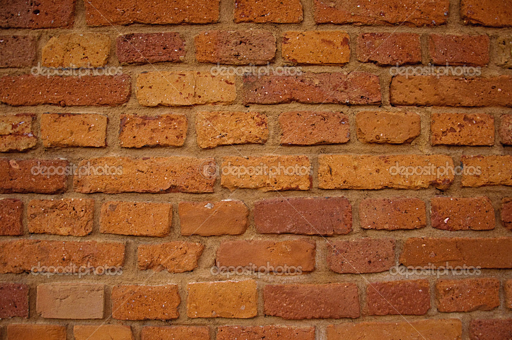Photo of wall made of brick.  Stock Photo #10342538