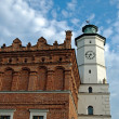 Townhall in Sandomierz - Stock Photo