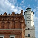 Townhall in Sandomierz — Stock Photo #8192448