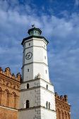Townhall in Sandomierz — Stock Photo